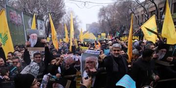 تبریز؛ صحنه حمایت از اقتدار و صلابت نظام