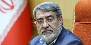 وزیر کشور: مردم در  اجرای طرح ممنوعیت فعالیت صنوف و ترددها کمک کردند/ ادارات تهران تعطیل نیست