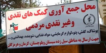 ارسال کمکهای مردمی توسط سپاه ناحیه کرمان به مناطق سیلزده جنوب استان