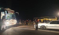تصادف جرحی در آزادراه زنجان_ قزوین/ راننده خاور مصدوم شد