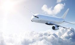 پرواز نخستین هواپیمای جهان با بزرگترین موتور جت دو قلو+عکس