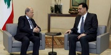 رایزنی نخستوزیر لبنان با رئیسجمهور این کشور درباره استعفای دولت