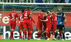 بوندس لیگای آلمان| برد پرگل لورکوزن در بای آرنا