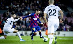 احمدی گزارشگر بازی یونتوس و بارسلونا شد