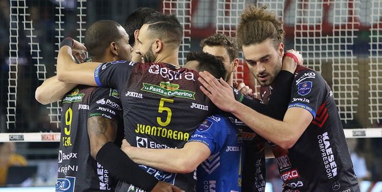 لیگ والیبال ایتالیا  تحقیر ورونا مقابل لوبه در هفته هجدهم
