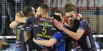 لیگ والیبال ایتالیا| تحقیر ورونا مقابل لوبه در هفته هجدهم