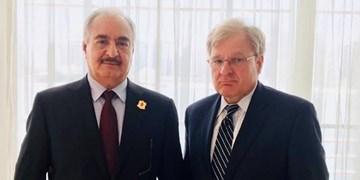 سفیر آمریکا در لیبی با سراج و حفتر دیدار کرد