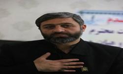 حضور خادمان مسجد مقدس جمکران در گلزار شهدای کرمان