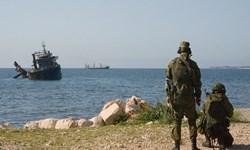 رزمایش مشترک روسیه و سوریه در «طرطوس»