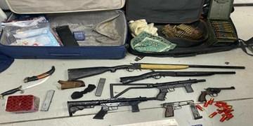 شناسایی و دستگیری اعضای باند قاچاق سلاح در خوزستان
