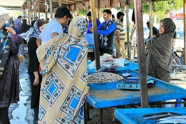 عکس| بازار «ماهیفروشان» بندرعباس 1