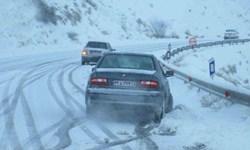 فیلم| بازگشت زمستان به محورهای استان زنجان