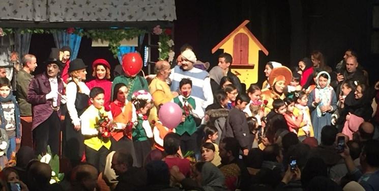 آغازی پر استقبال برای یک نمایش کودک/یادی از زنده یاد «محباهری» در افتتاحیه