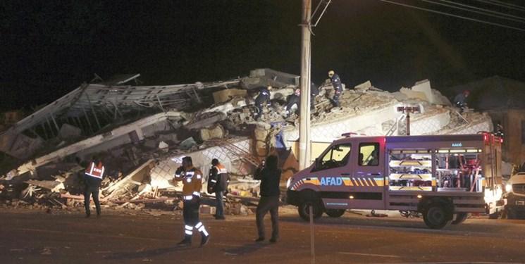 فیلم و عکس| افزایش تلفات زلزله ترکیه به 21  کشته و 1030 مجروح