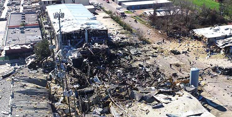 انفجارِ تگزاس دو کشته و 20 مجروح داشت