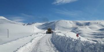 بازگشایی راه 78 محور روستایی که در برف و کولاک مسدود شده بود