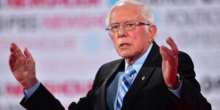 برنی سندرز در صدر رقابت نامزدهای دموکرات قرار گرفت