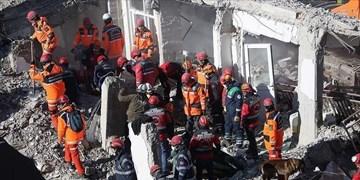 زلزله ترکیه | ۳۸ کشته و ۱۶۰۰ زخمی؛ ۴۵ نفر هنوز زیر آوارند