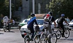 تعیین فاز یک مسیر دوچرخهسواری در زنجان
