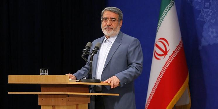 وزیر کشور: میزان مشارکت در انتخابات ۴۲.۵ درصد است