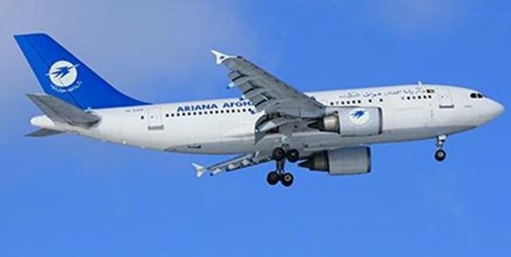 یک هواپیمای مسافربری در مرکز افغانستان سقوط کرد