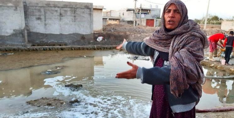 بیتدبیری بیخ گوش بزرگترین بندر ایران/ سیلاب شهرک شهید رجایی 45 خانه خونسرخیها را زیر آب برد+فیلم و عکس