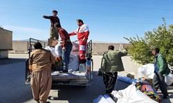 امدادرسانی هلالاحمر به 306 نفر در خوزستان