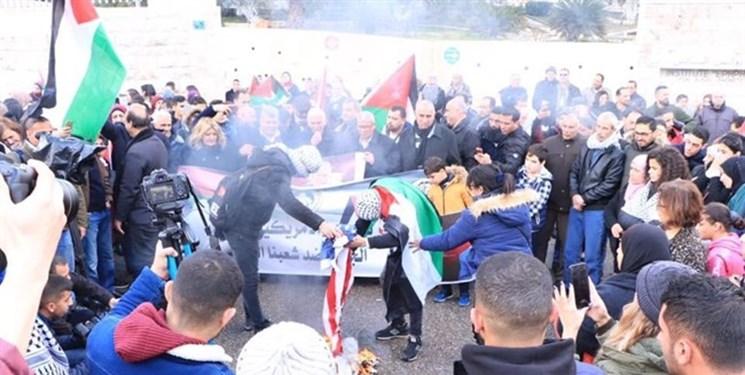 خروش کرانه باختری در اعتراض به معامله قرن|دهها نفر زخمی یا بازداشت شدند