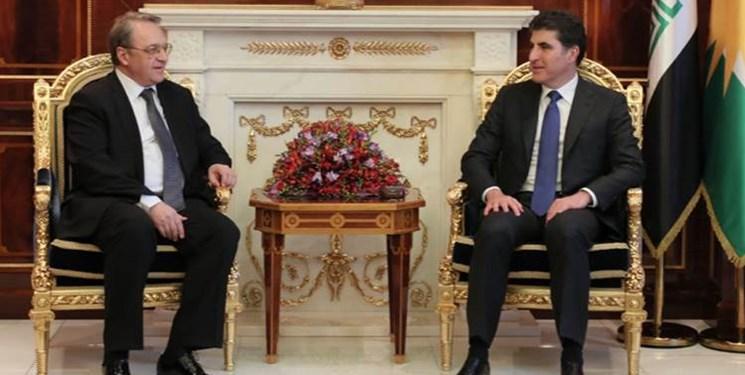دیدارهای «بوگدانوف» با مقامات منطقه کردستان عراق در اربیل