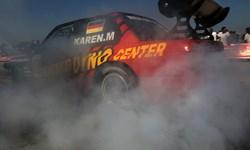 فیلم| مسابقه اتومبیلرانی «شتاب کیش»