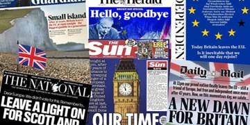بازتاب برگزیت در رسانههای انگلیس  طلوعی جدید یا حرکت به سرنوشتی نامعلوم