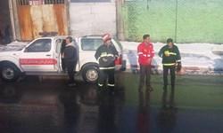 آتشنشانی در روزهای برفی کرمانشاه آمادهباش کامل است/ بازگشت شرایط عادی به معابر شهری