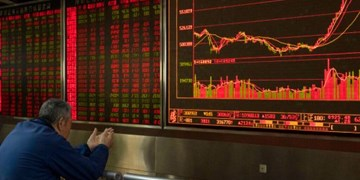 نگرانی سهامداران از تشکیل صف فروش با منفی شدن بورس وال استریت