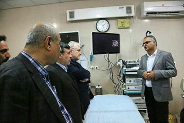 عکس  سفر وزیر بهداشت به هرمزگان