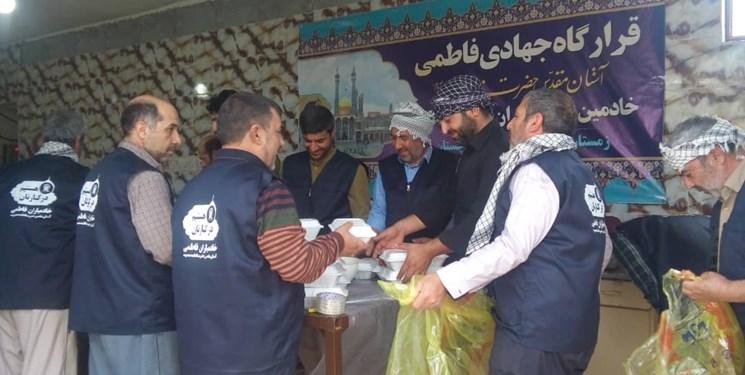 یاریرسانی خادمان حضرت معصومه (س) به سیلزدگان / جمعآوری کمکهای مردمی