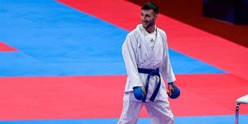 کاراته گزینشی المپیک  مهدیزاده در پاریس هم سهمیه توکیو را نگرفت!