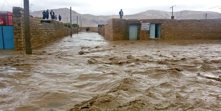 آخرین وضعیت سیل در کرمان؛ نیمی از شهر زهکلوت زیر آب رفته است/ آغاز امدادرسانی هوایی