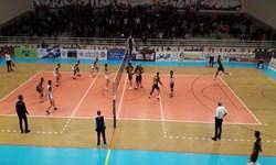 لیگ برتر والیبال  برتری فولاد سیرجان برابر سپاهان اصفهان