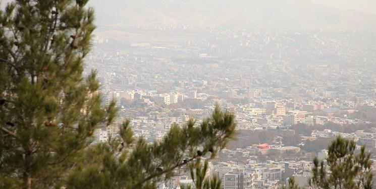 هوای تهران در مرزآلودگی/بیشترین و کمترین دمای هوا در روزجاری