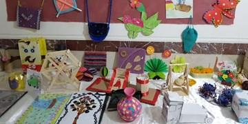 نمایشگاه دستاوردهای سازمانهای مردم نهاد دشتی افتتاح شد