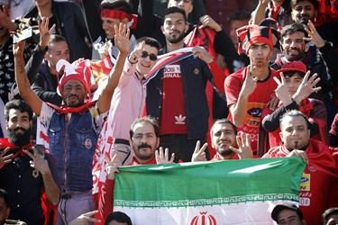 گزارش تصویری از حضور هواداران پرشور پرسپولیس و استقلال در دربی
