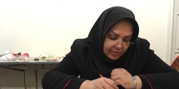 تلاشهای 40 ساله یک زن برای احیای اصیل ترین هنر ایرانی+فیلم