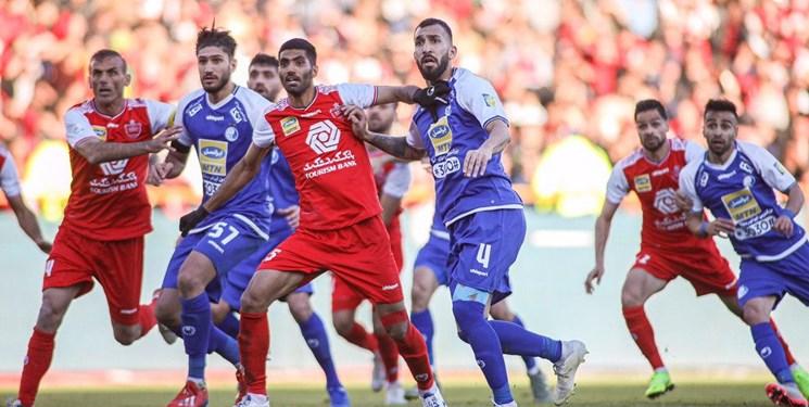مسابقه دو تیم پرسپولیس و استقلال از هفته نوزدهم لیگ برتر با تساوی به پایان رسید.