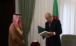 وزیر خارجه عربستان با رئیس جمهور الجزائر دیدار و گفتوگو کرد