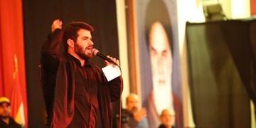 برگزاری چهلم شهدای مقاومت در لبنان با مداحی میثم مطیعی +عکس