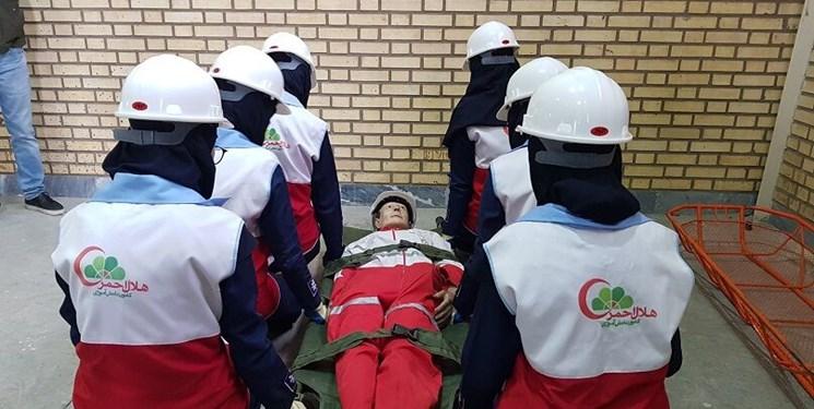 آغاز دوره بازآموزی طرح امداد و نجات نوروزی هلال احمر کردستان