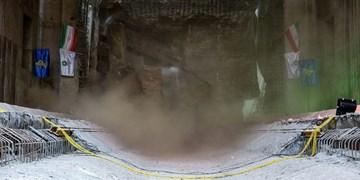 دستگاه حفاری تونل TBMخط 3 به پایانه مسافربری امام رضا(ع) رسید