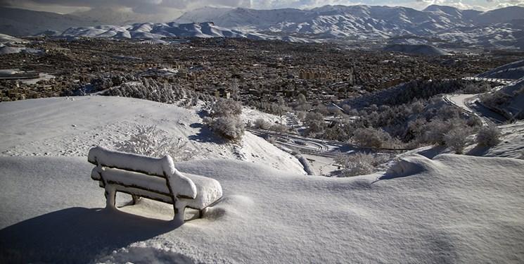 تصاویری از جلوه های زیبای طبیعت زمستانی سنندج