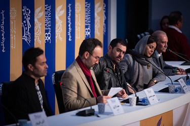 نشست پرحاشیه فیلم «شین» در جشنواره فیلم فجر