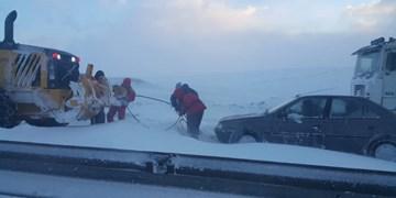 450 روستای آذربایجان شرقی در محاصره برف/ ارتفاع برف به 40 سانتیمتر رسید